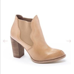 Chinese Laundry Zealous Leather Ankle Boot Bootie